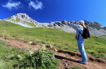 photographing Dolomites