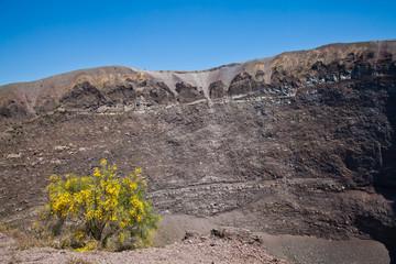 Vesuvius crater