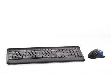 Tastatur mit Maus