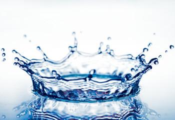 corona from splash of  water