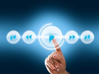 virtuelles Sound Interface