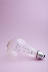 A close up of a light bulb.