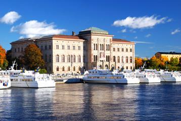 National Museum Stockholm city. Sweden