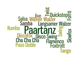 Paartanz - grün