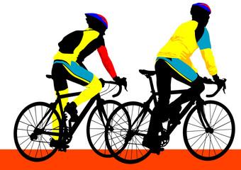 Cyclist boys