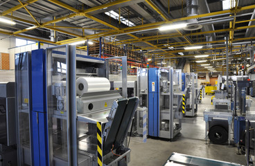 Verpackungsmaschine Druckerei // industry packing maschine