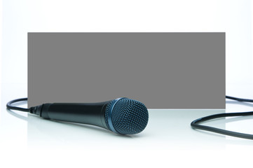 Studio Microphone (Clipping Path)