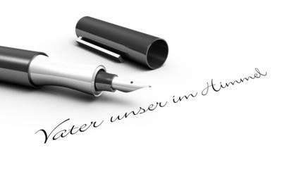 Vater unser im Himmel - Stift Konzept
