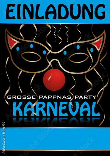 """einladung-plakat-karneval"""" stockfotos und lizenzfreie vektoren auf, Einladungen"""