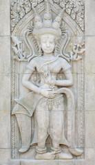 Apsara on the wall