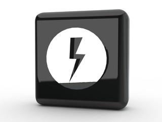 Button Blitz schwarz