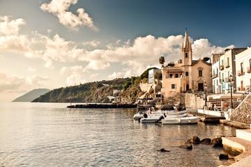 Marina Corta in Lipari Island