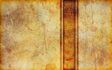 Old Stained Parchment Background Design