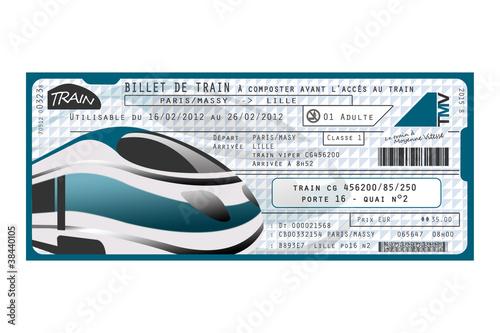 """Image Billet De Train billet de train"""" photo libre de droits sur la banque d'images"""