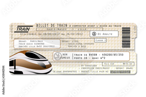 "Image Billet De Train faux billet de train"" stock photo and royalty-free images on fotolia"