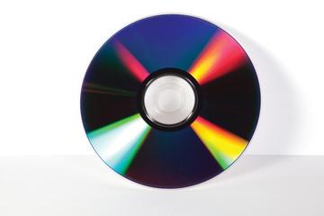 cd on white