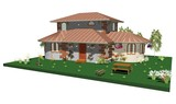 Casetta di campagna little country house 3d immagini e for 3d casa e giardino gratis