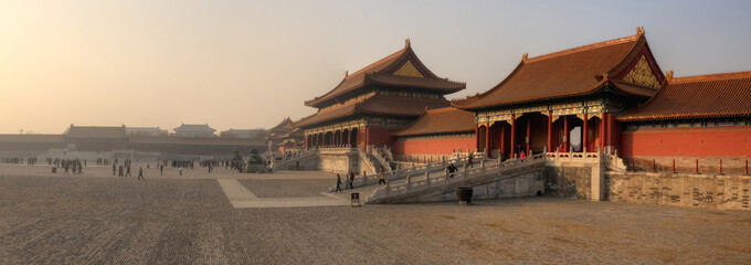 Foto op Plexiglas Beijing Forbidden City - Beijing / Peking - China