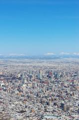 札幌市中心部