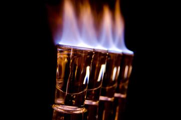 Burning shots