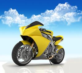Keuken foto achterwand Motorfiets SuperBike concept render