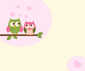 cute owls love