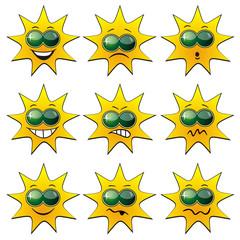 Sun Faces Sunglasses