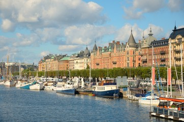 The bay of Stockholm