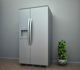 refrigerator interior house scene