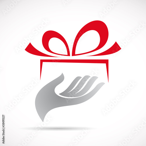 quot logo give a gift vector quot stock image and royalty free vector files on fotolia com pic 38491327