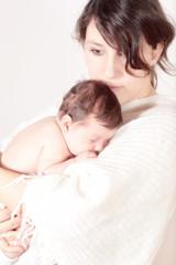 Liebe zwischen Mutter und Kind