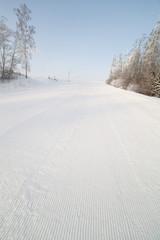 Ski track.