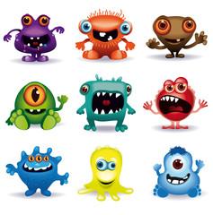 little vector monsters