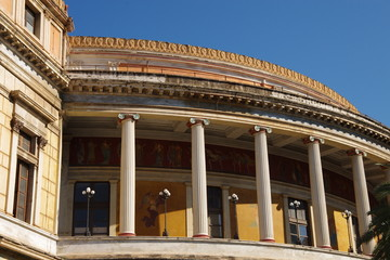 théâtre de Massimo à Palerme
