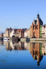 Gdansk Old City in Poland