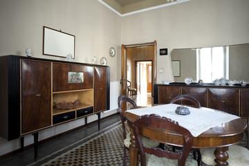 interior old livingroom