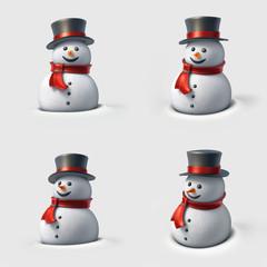 Cute snowman.