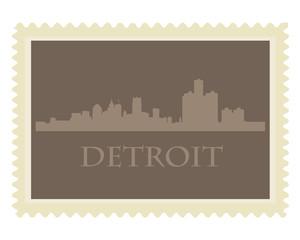 Detroit stamp