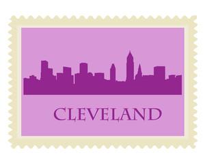 Cleveland stamp