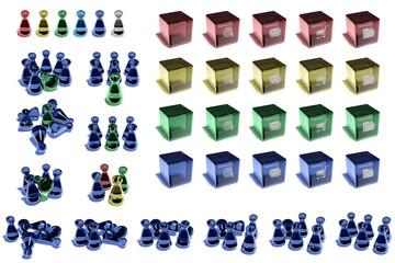 Glas-Icons für Präsentationen 1