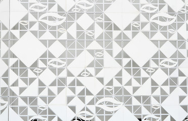 Pattern of glass  , business background .