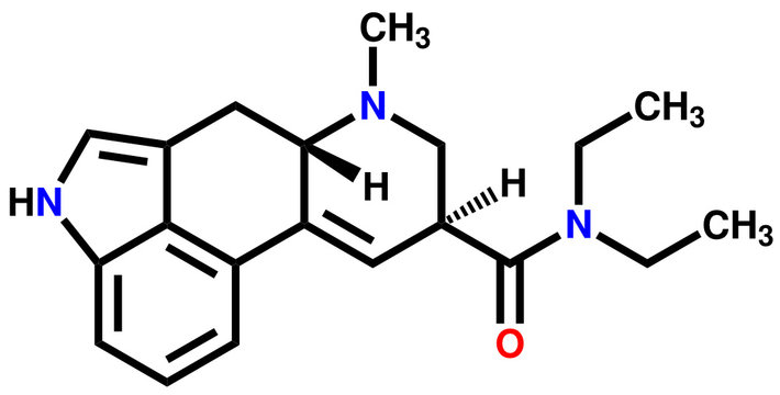 LSD structural formula