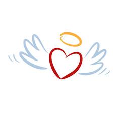 Herz, Flügel