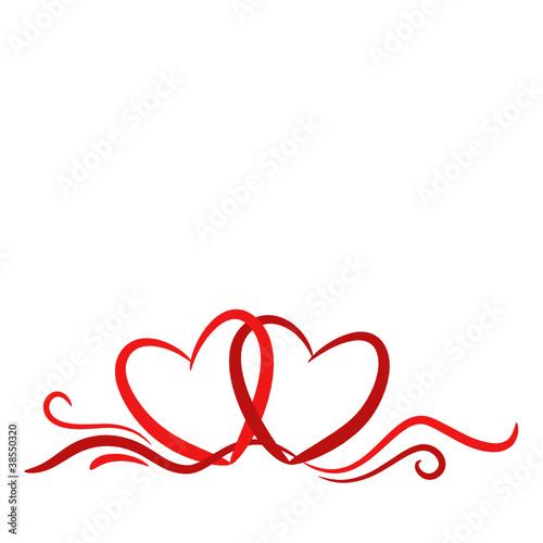 Herzen, Hintergrund, Karte, geschwungene Linien 2\