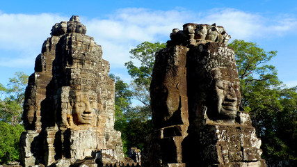 Bayon Temple, Angkor Thom, near Siem Reap, Cambodia