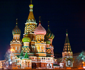 Saint Basil's Cathedral, Red square, Moscow