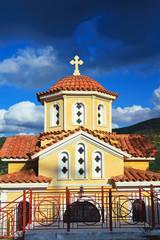 Kapelle in den Bergen von Kreta/Griechenland