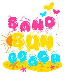 sand sun beach