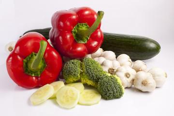 Fotobehang Keuken Warzywa