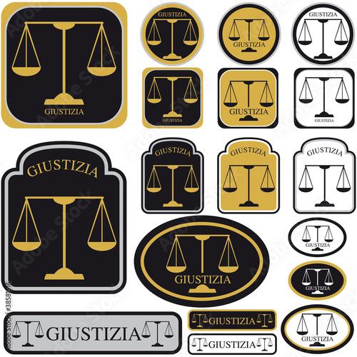 La Bilancia Come Simbolo Di Giustizia Immagini E Vettoriali Royalty